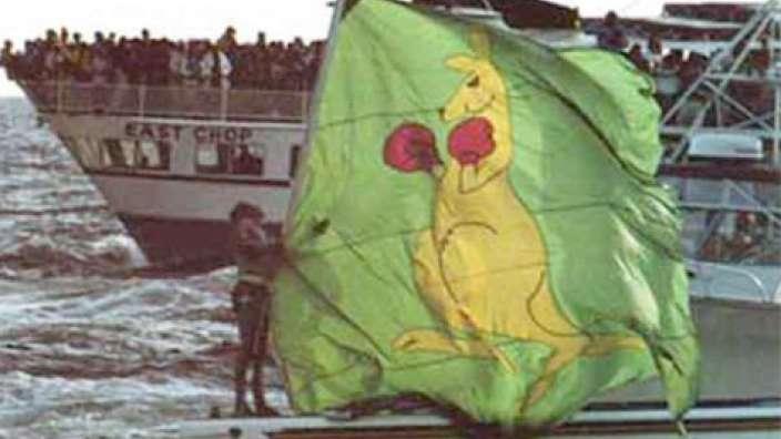 boxing kangaroo history  u2013 australian flags