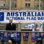 Philip-Ruddock-speaking-at-the-Australian-National-Flag-Day-110th-Anniversary--Martin-Place