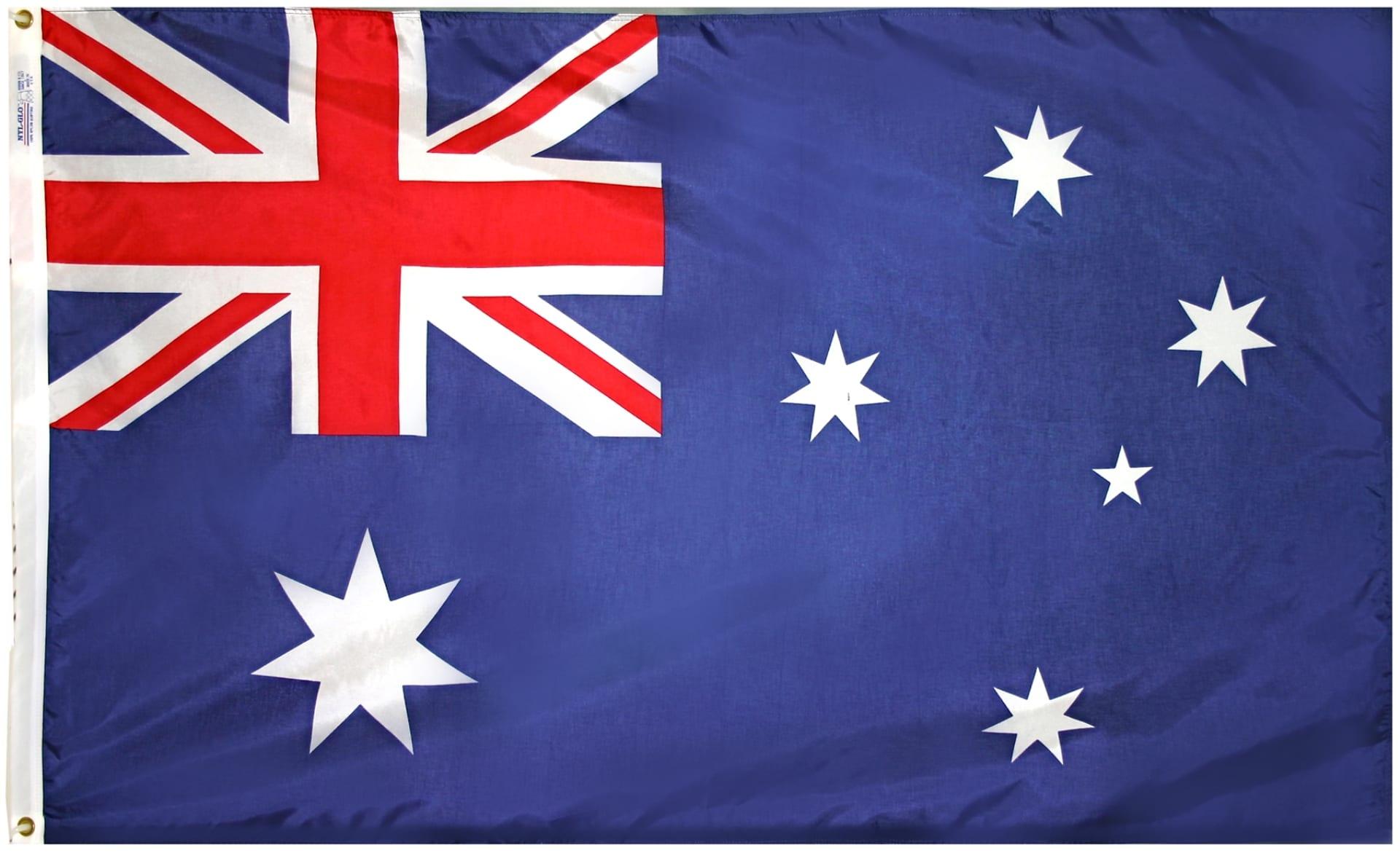 australian flag 3000 1500 mm australian flags