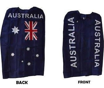 Australian cape supporters gear