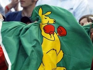 Boxing Kangaroo Flags