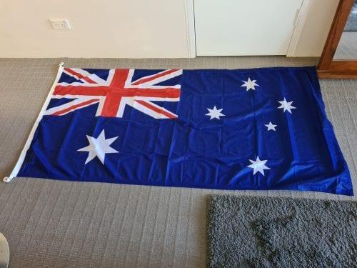 Trilobal Outdoor Australian Flag 150 x 75cm photo review